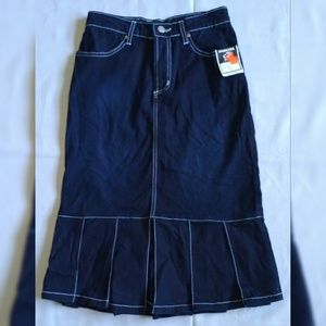 New Parkers Jeans Skirt Size M